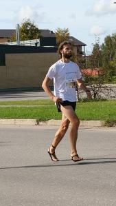 Viens mirklis no maratona